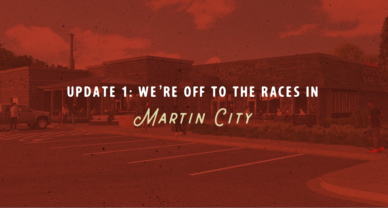 Update 1: We're Off To The Races in Martin City