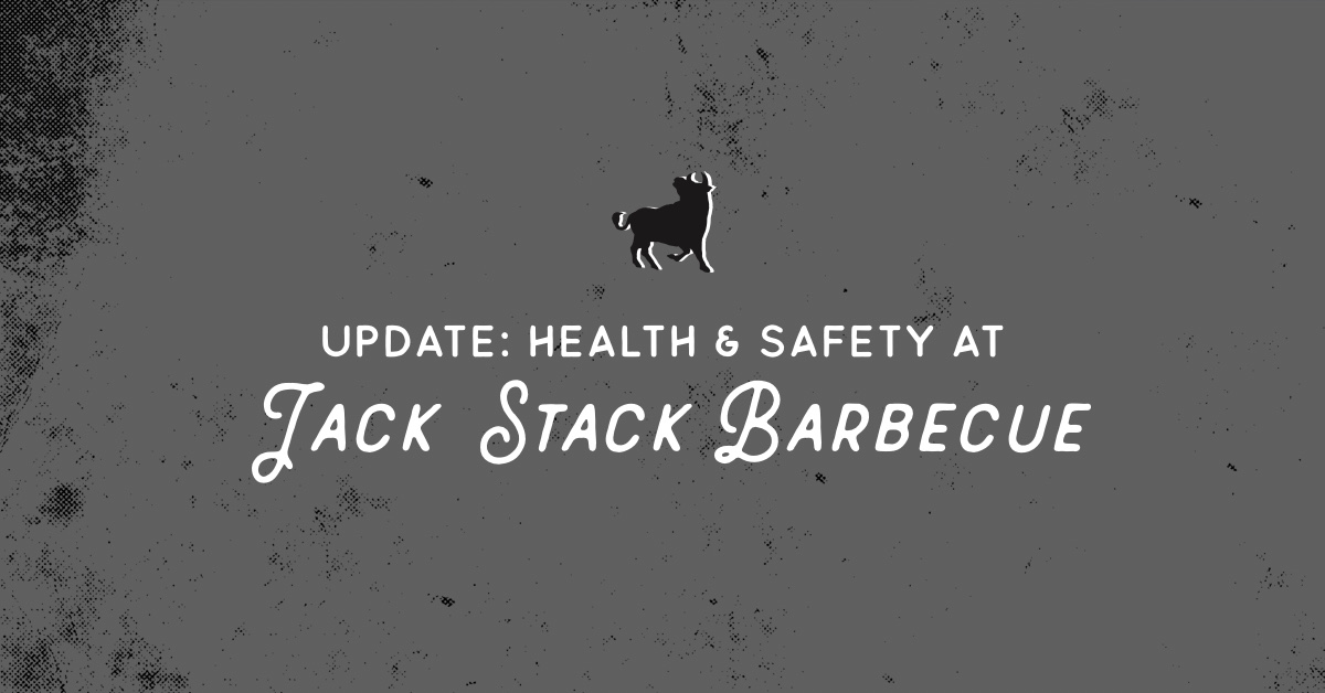 Updated Heath & Safety Standards at Jack Stack Barbecue